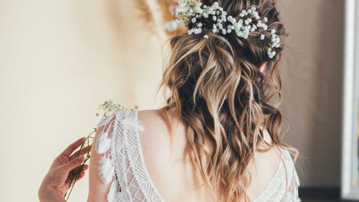 Die schönsten Ideen für Brautfrisuren offen
