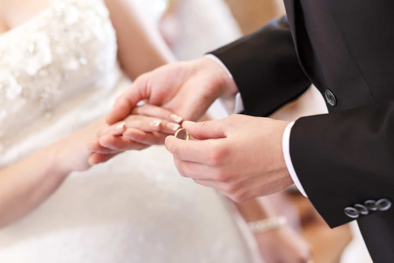 Hochzeitszeremonie, Ringwechsel