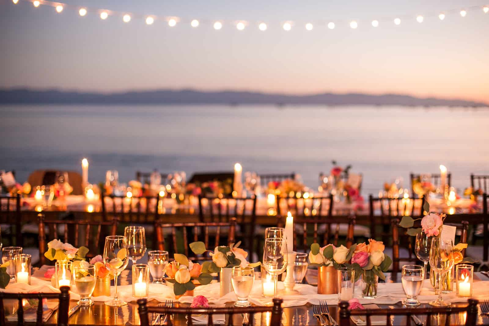 Perfektes Hochzeitsessen