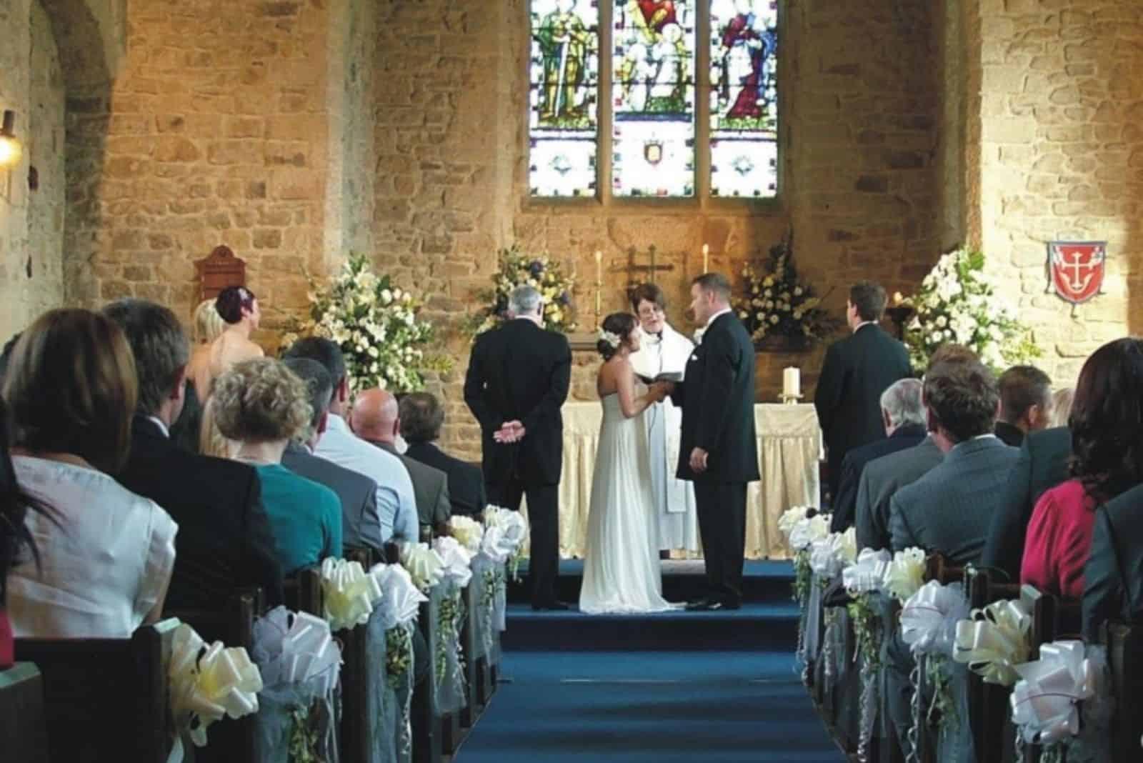 kirchliche Hochzeits