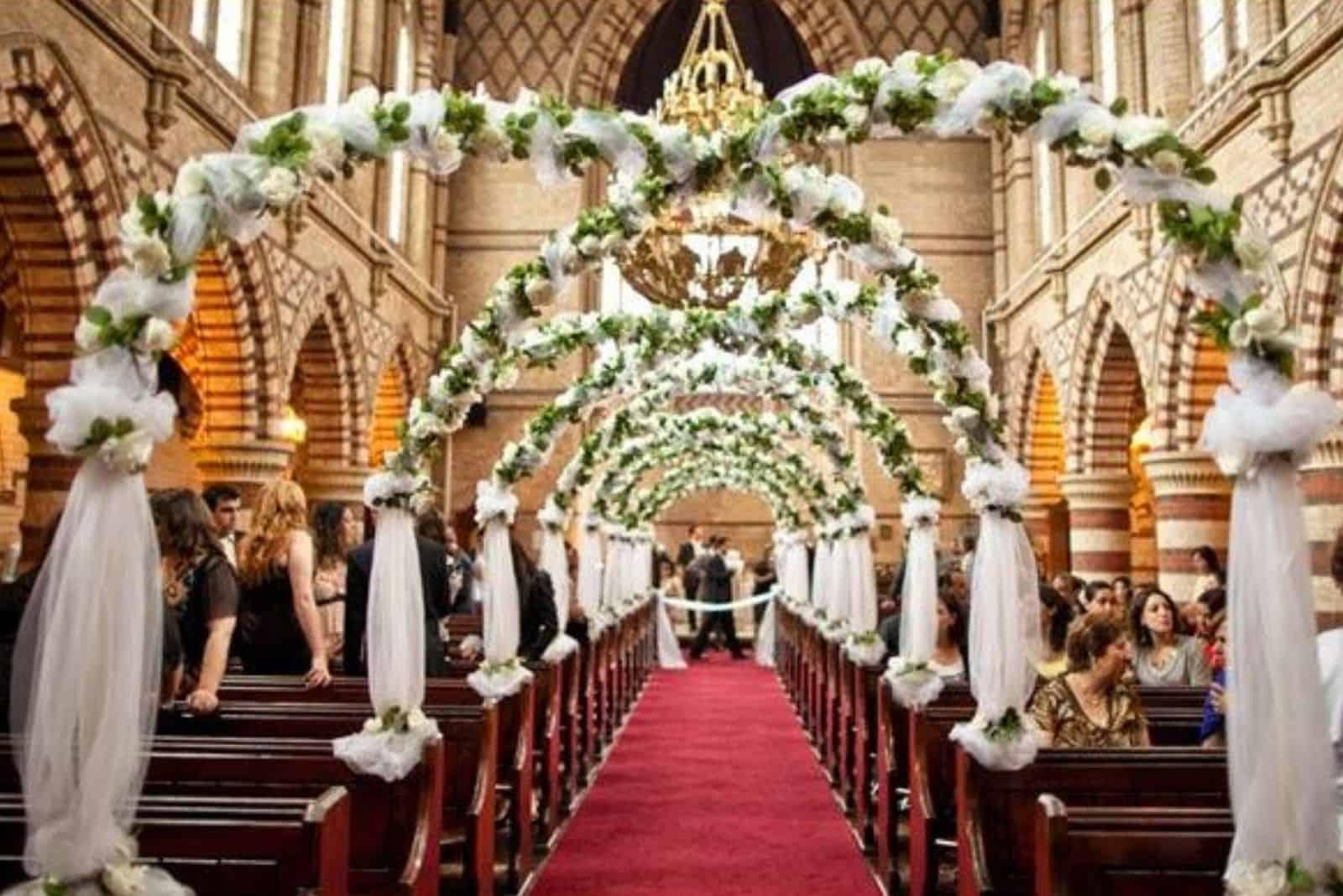 kirchliche Hochzeitszeremonie (1)
