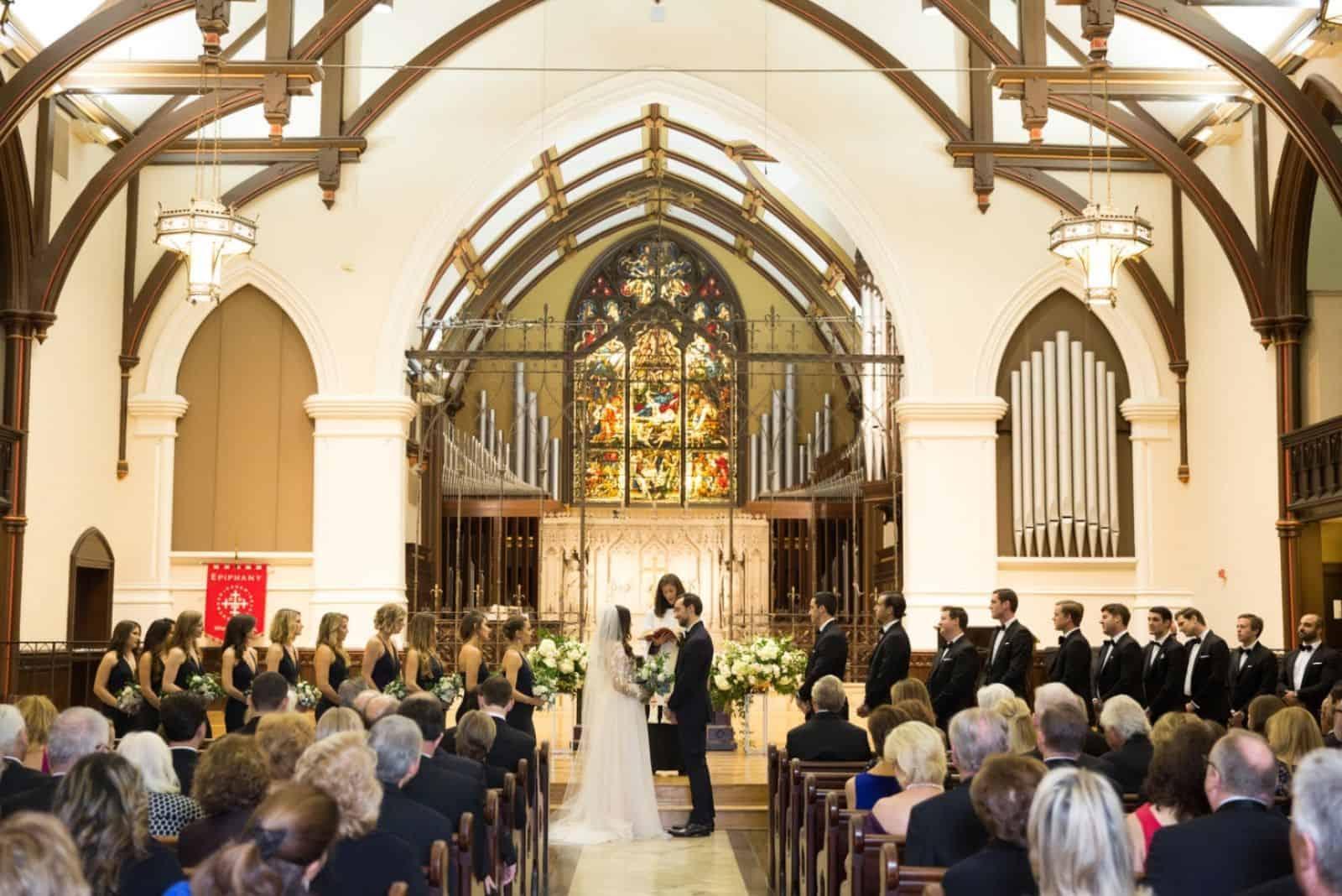 kirchliche Hochzeitszeremonie