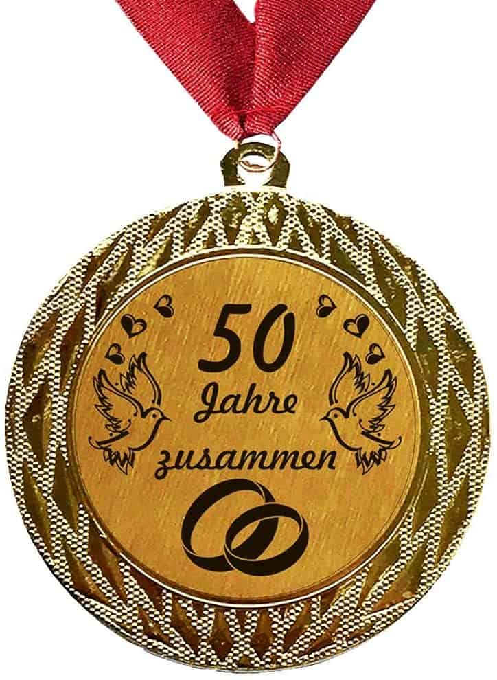 Larius Group Medaille 50 Jahre