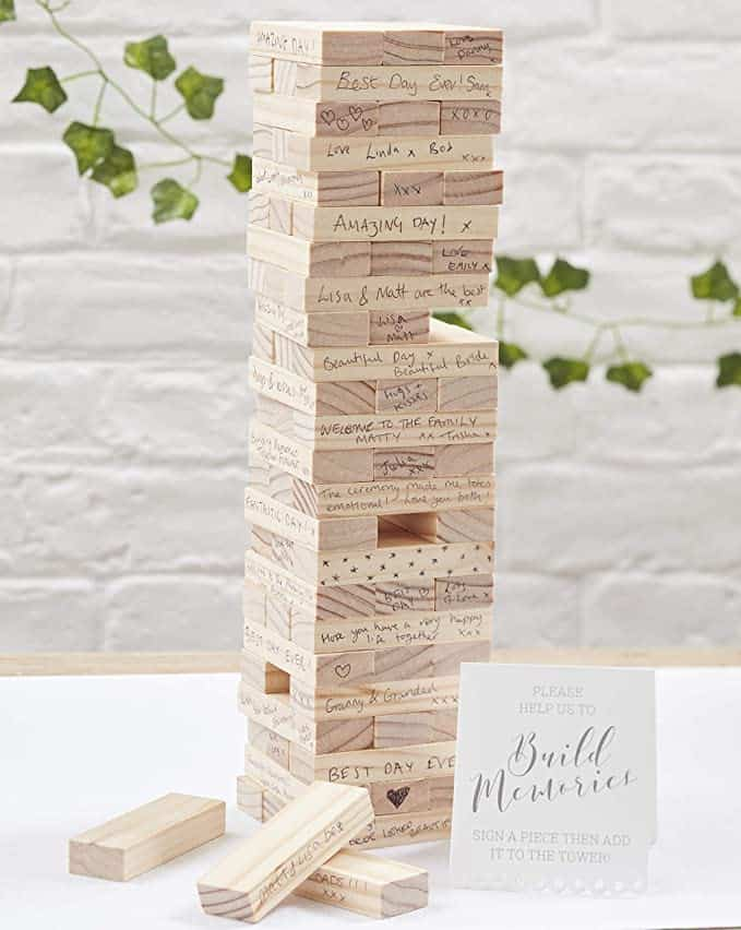 Ginger Ray - Build a Memory - alternatives Hochzeitsgästebuch