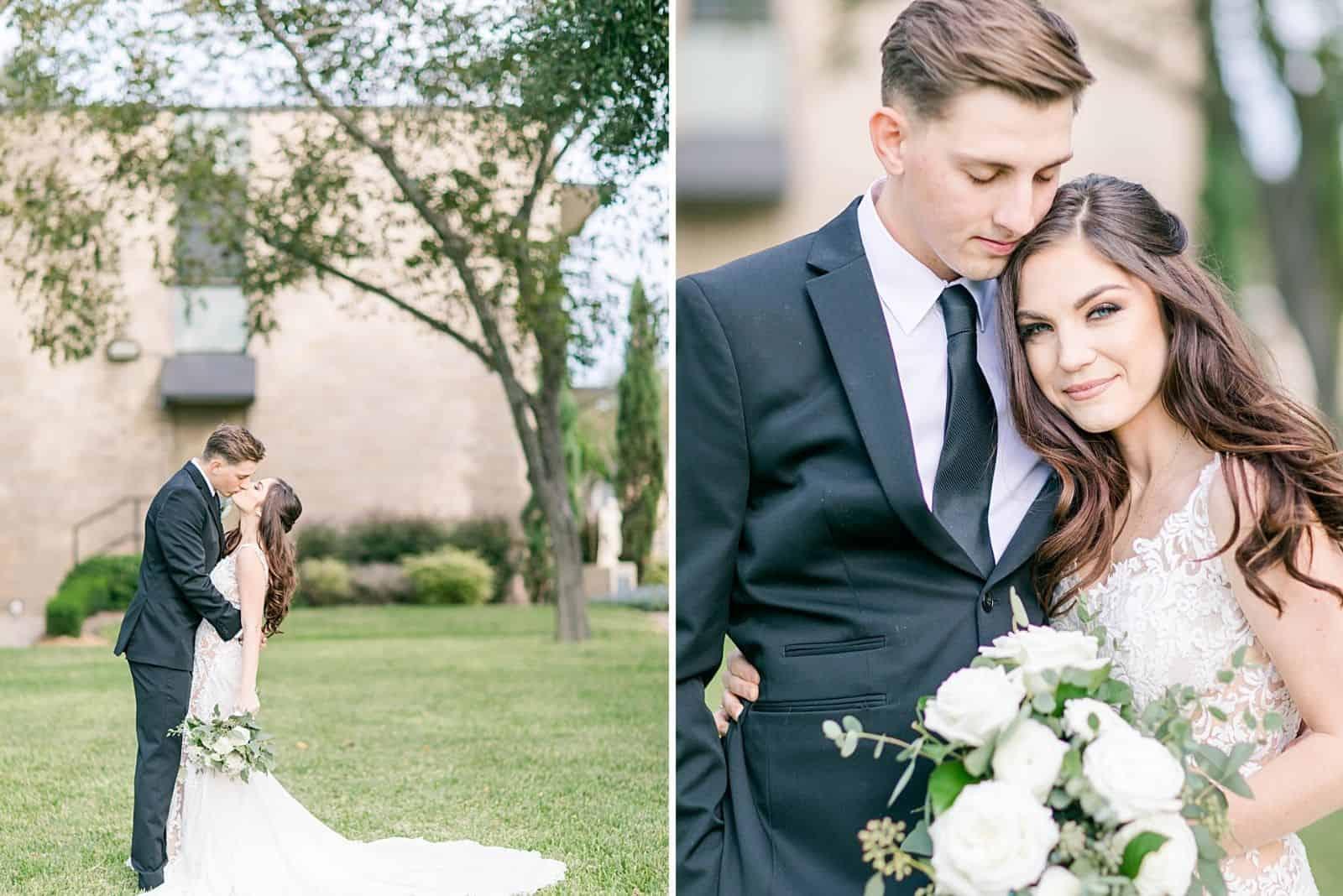 Polen Hochzeit Braut und Bräutigam