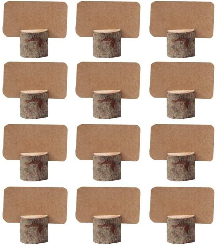 Amajoy Tischkarten-Halter aus Holz
