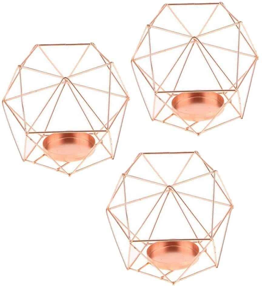 FLAMEER 3D Geometrie Kerzenhalter