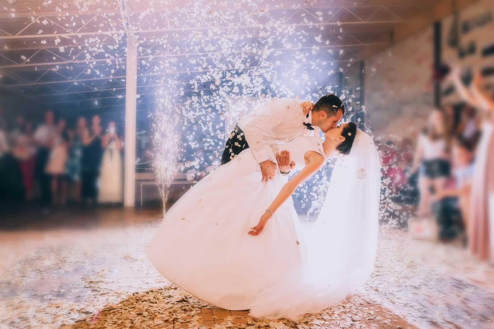 der erste Tanz der Jungvermählten