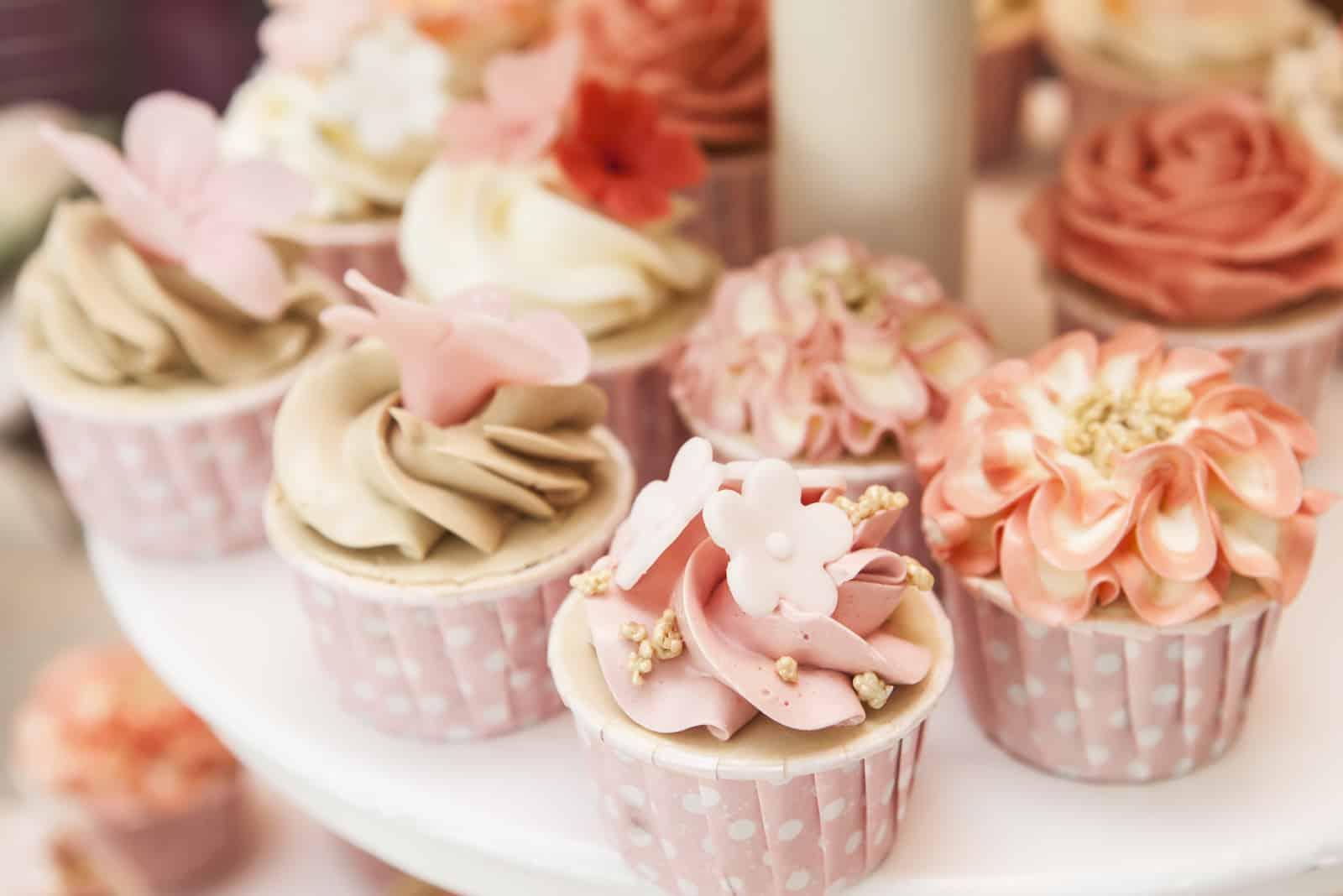ein paar Cupcakes