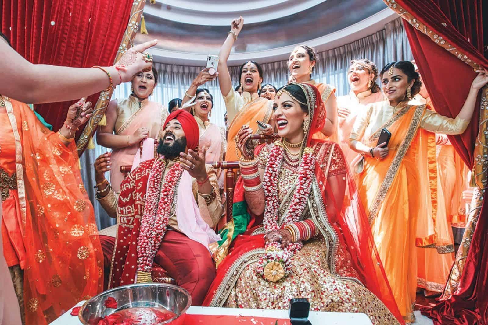 indische Hochzeitstraditionen