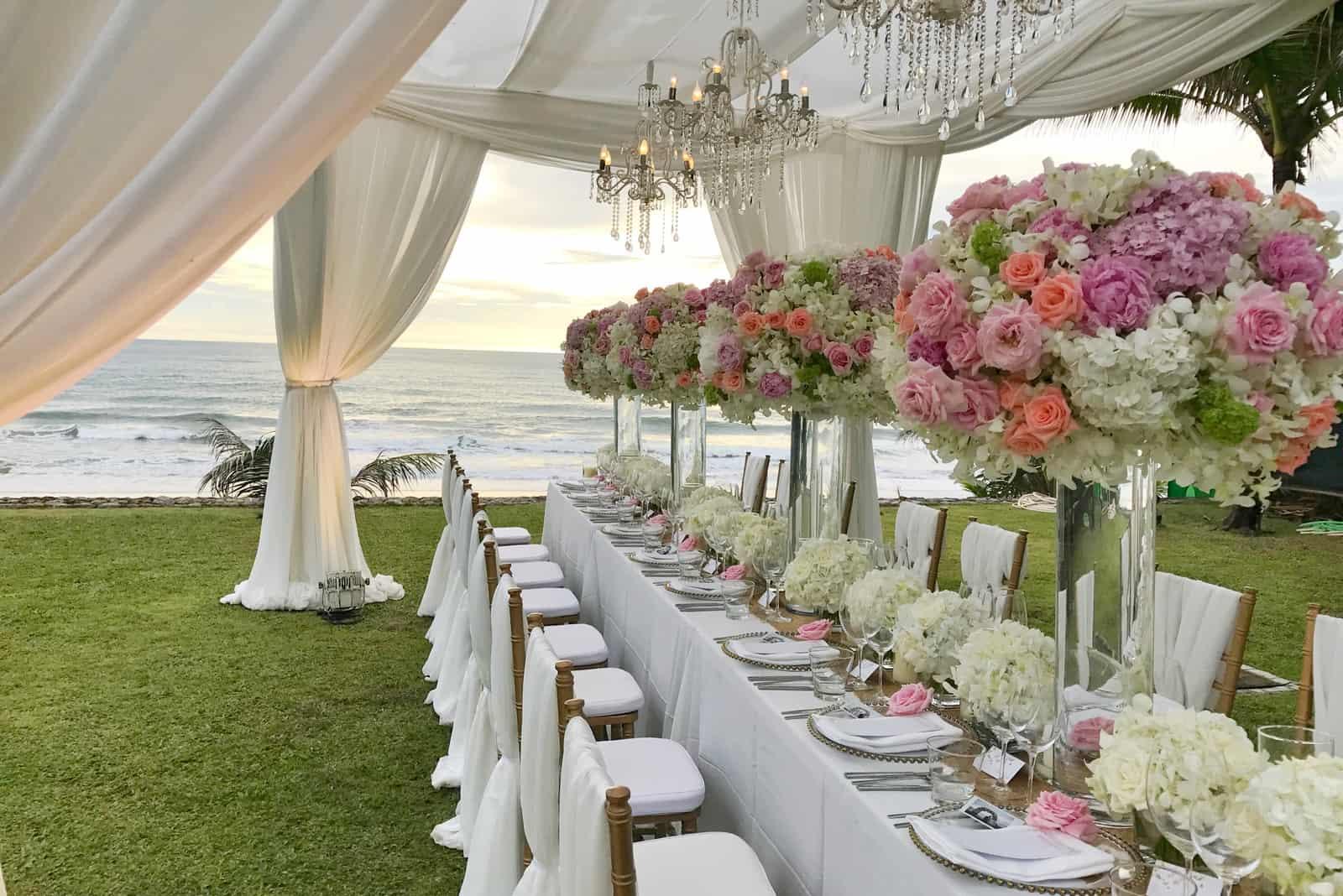 schöne Hochzeitsdekoration