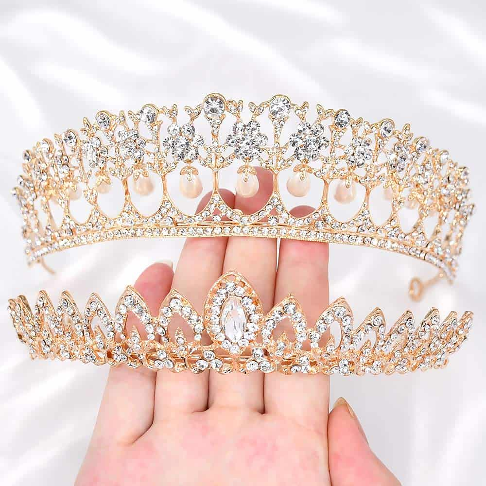 JER Fashion Strass - Kristall - Diadem