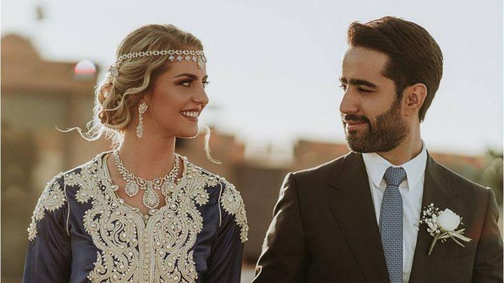 Marokkanisches Hochzeitspaar