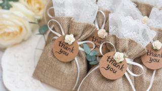 schöne Dankeschön-Geschenke für Hochzeitsgäste